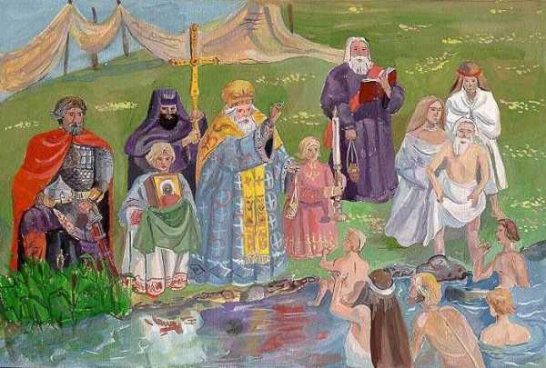 Реферат крещение руси князем владимиром 2224